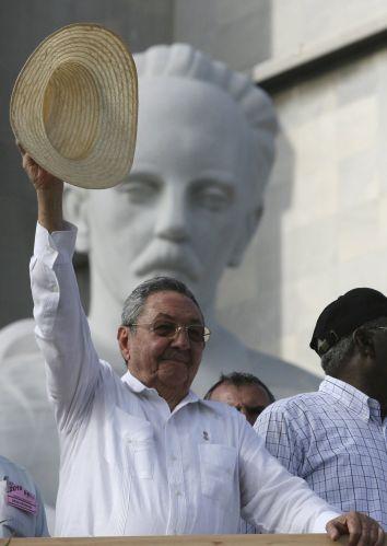 Raúl Castro celebra 1º de Maio
