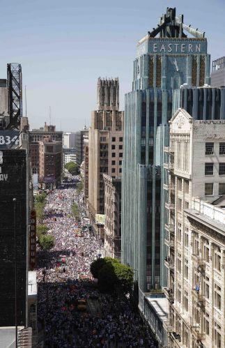 Protestos nos EUA contra lei anti-imigração