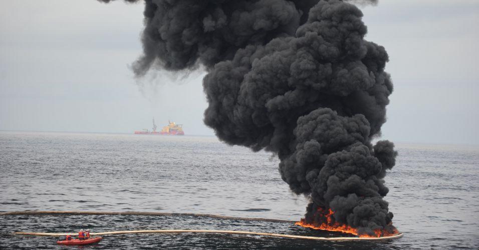Vazamento de petróleo nos EUA