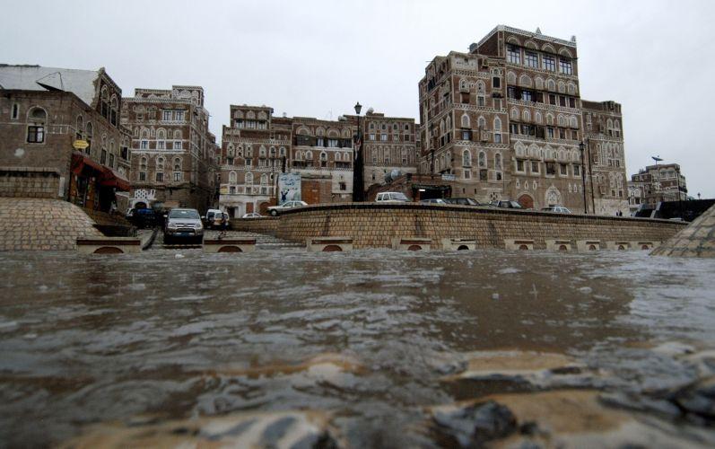 Chuvas no Iêmen