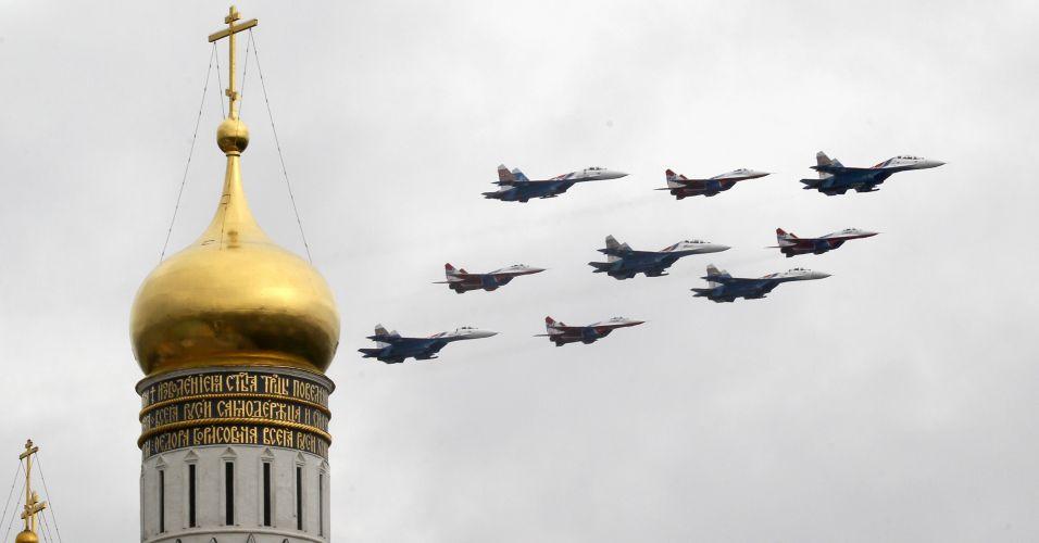 Dia da Vitória na Rússia