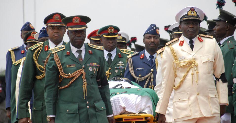 Morre presidente da Nigéria