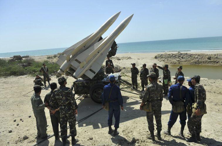 Exercício militar iraniano