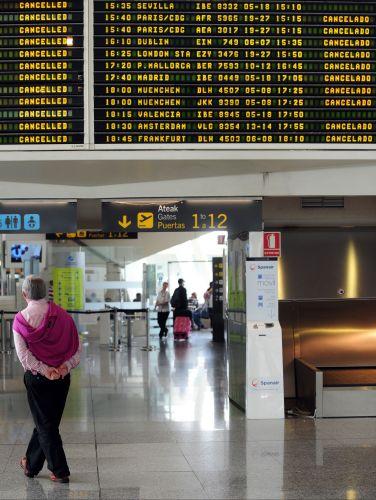 Caos nos aeroportos