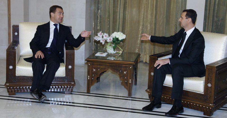 Esforço de paz na Síria