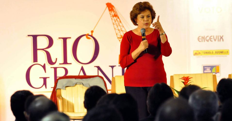 Dilma no RS