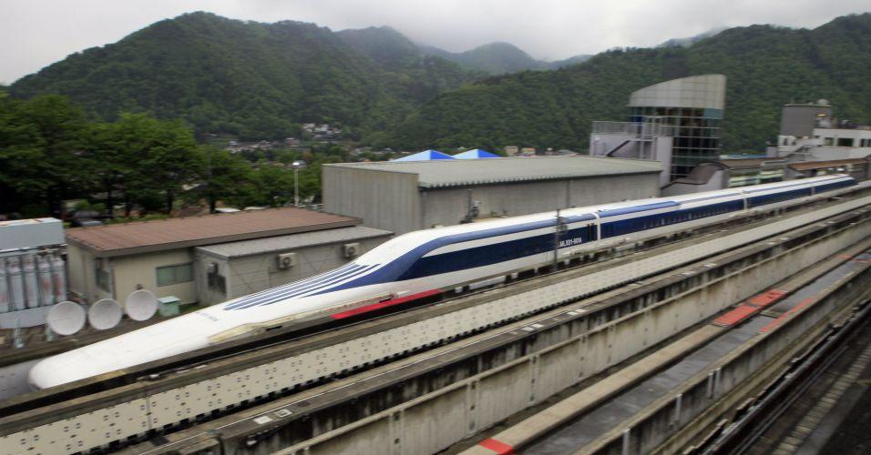 Trem mais rápido do mundo