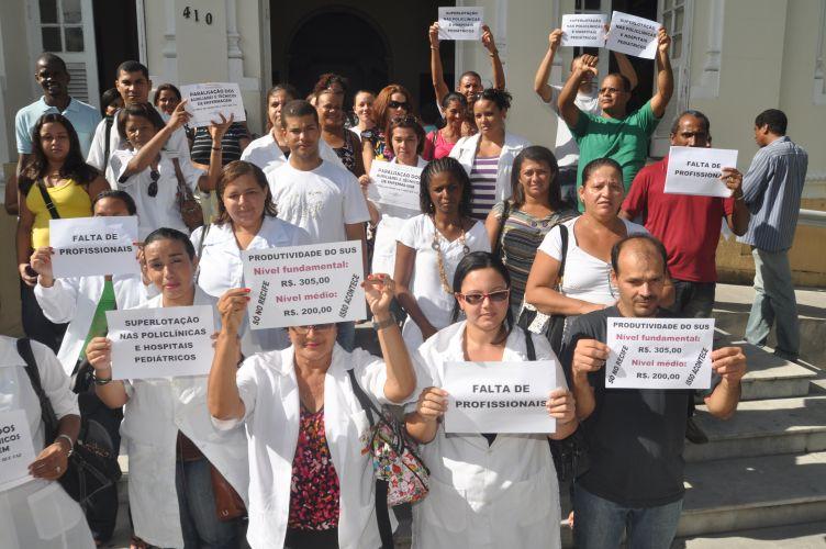 Protesto no Recife