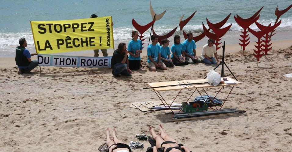 Greenpeace em Cannes