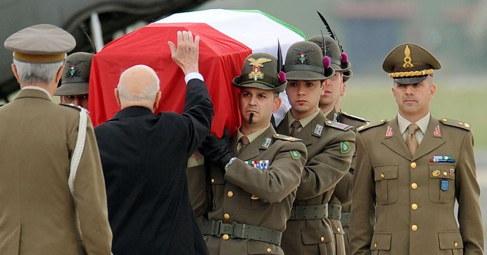 Homenagens na Itália