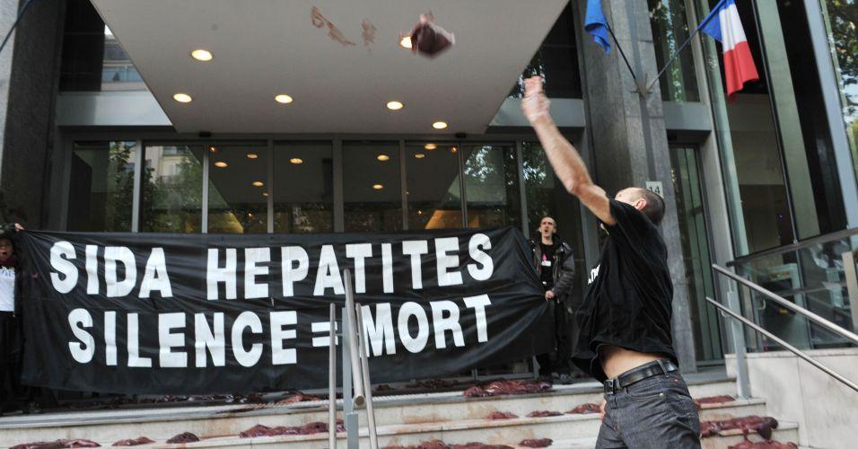 Protesto pela saúde na França