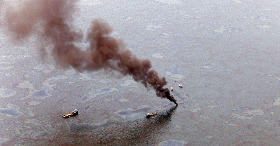 Mancha de óleo nos EUA