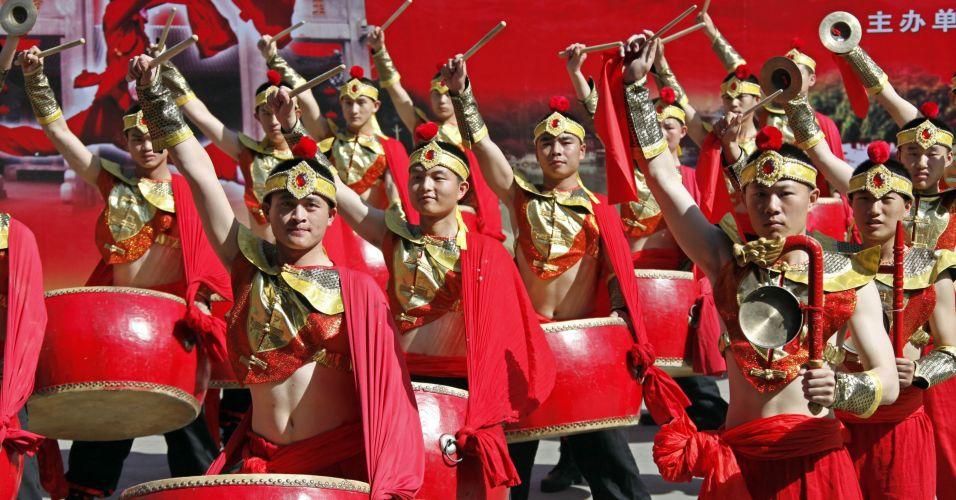 Cerimônia na China