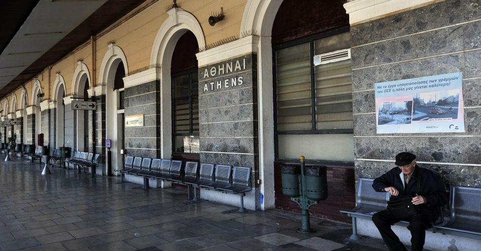 Greve geral na Grécia
