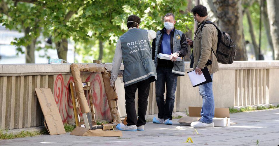 Roubo de obras em Paris