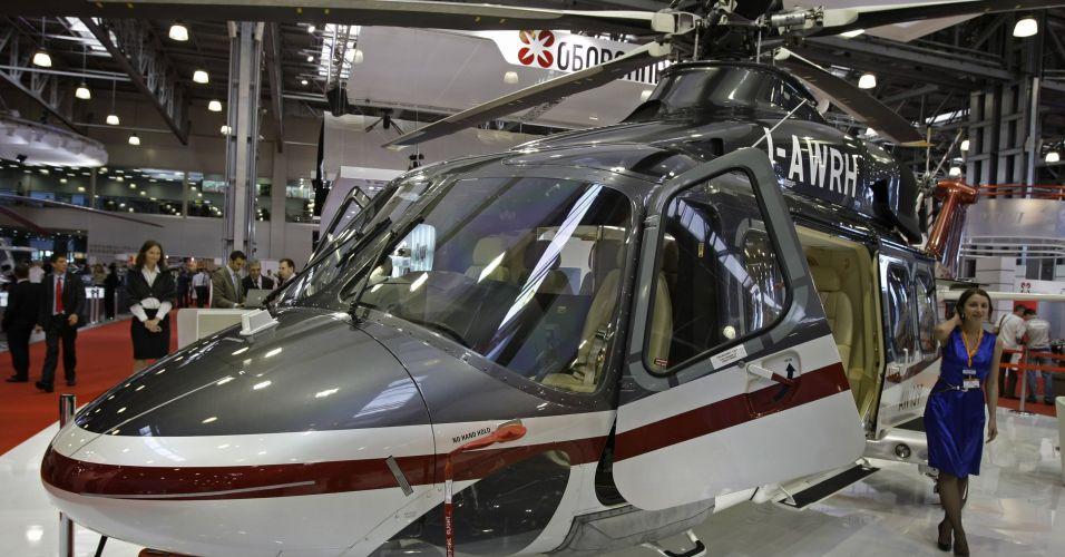 Helicóptero para 15 pessoas