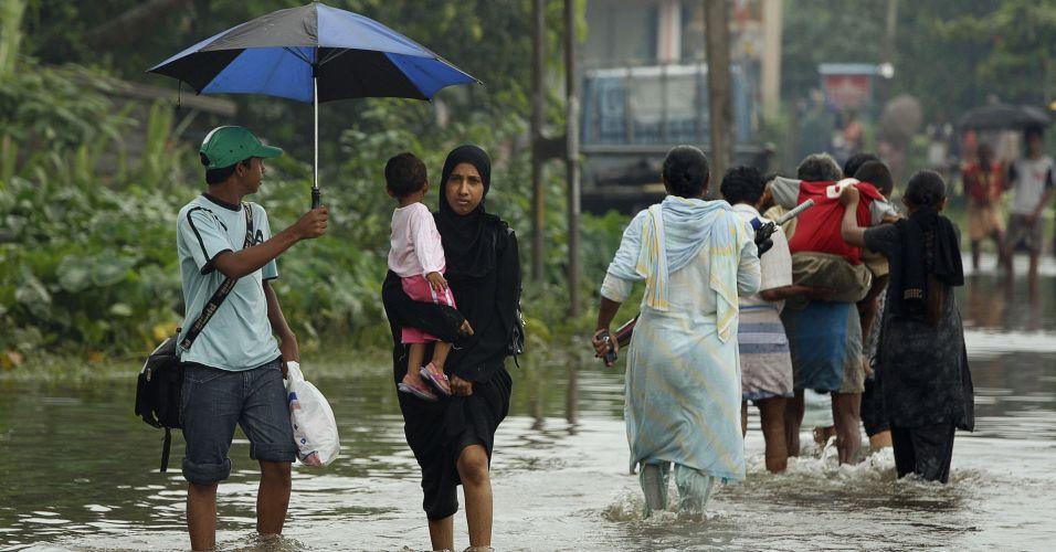 Inundações no Sri Lanka