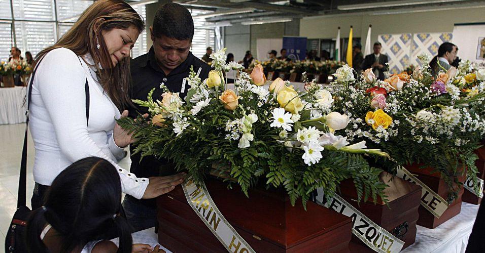 Homenagem na Colômbia