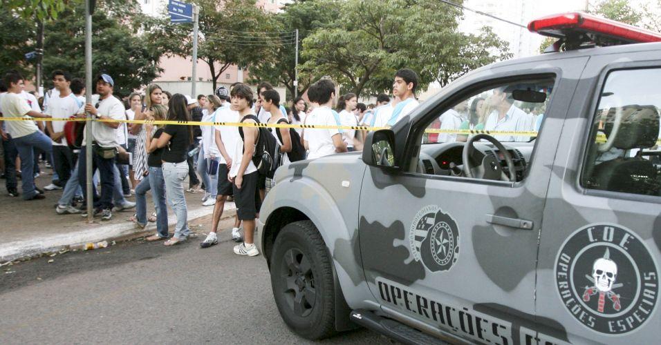 Bomba em Goiânia