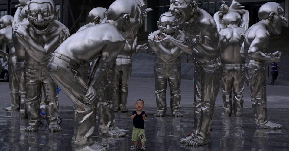 Esculturas em Pequim