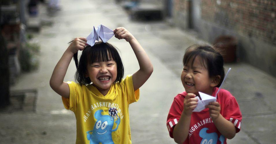 Crianças em Pequim