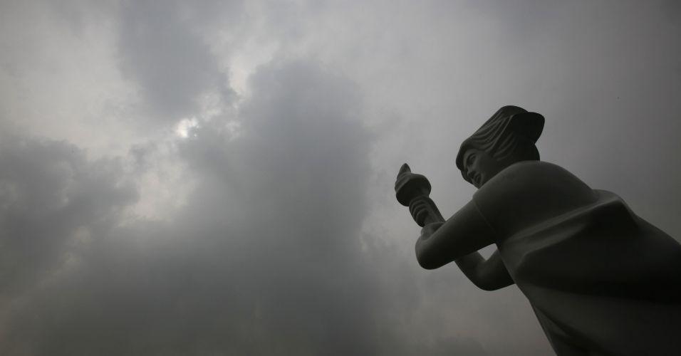 Estátua na China