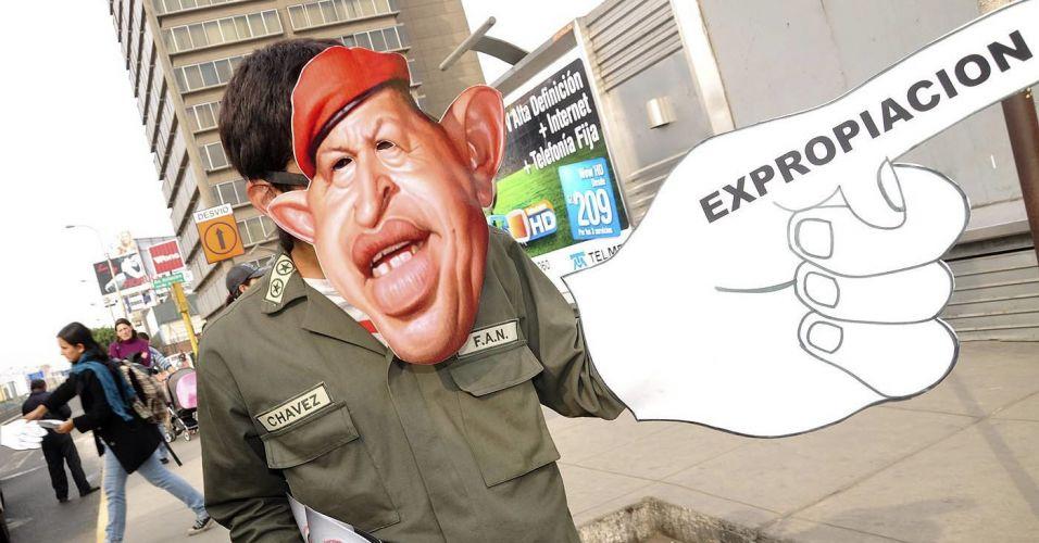 Protesto no Peru