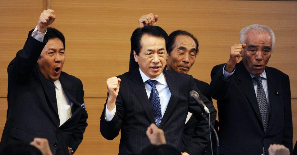 Encontro partidário no Japão