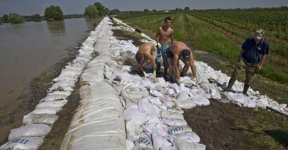 Diques na Polônia