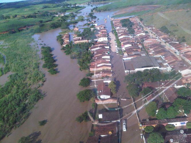 Rio transborda em Alagoas