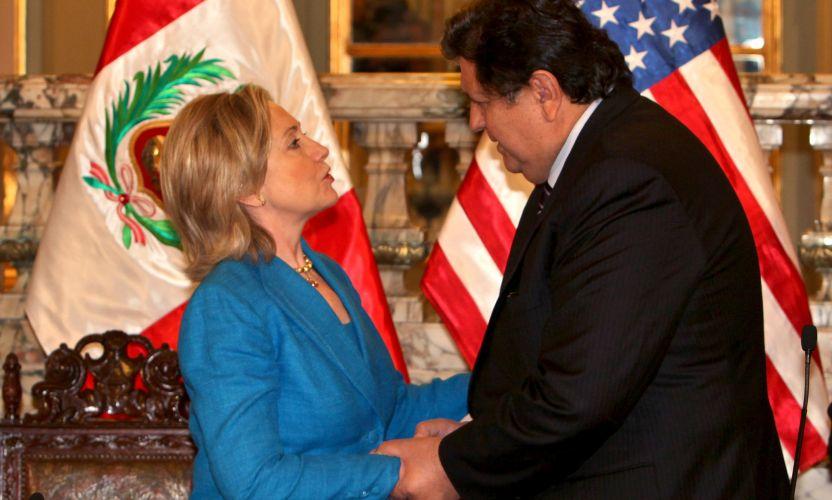 Hillary no Peru