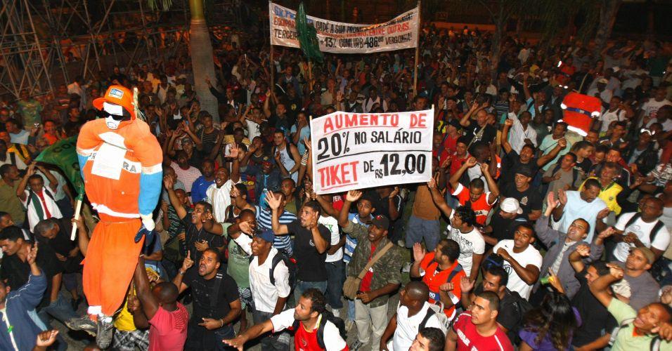 Manifestação no centro do Rio