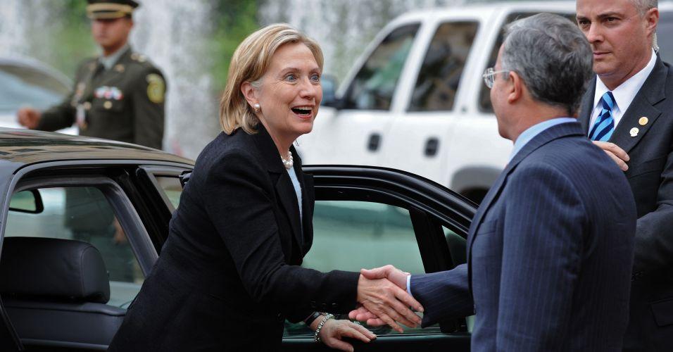 Hillary na Colômbia