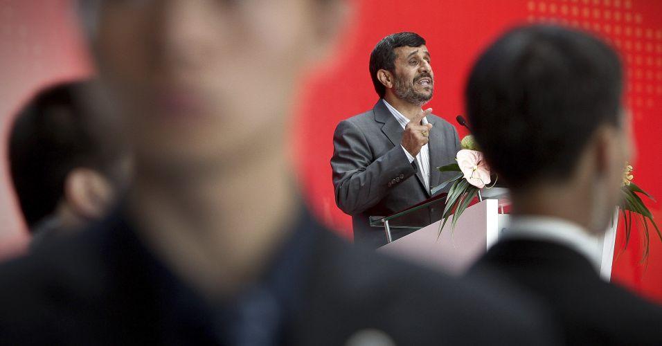 Ahmadinejad na China