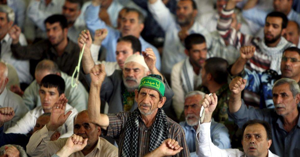 Oração no Irã