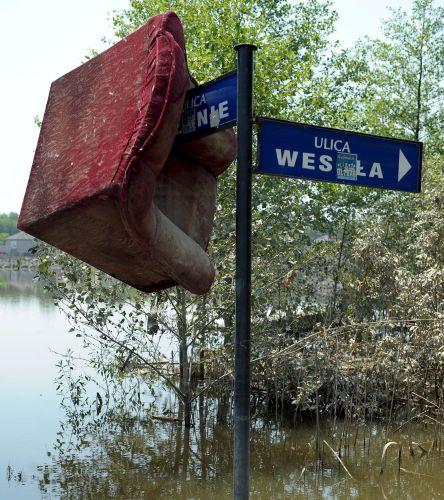 Chuva na Polônia