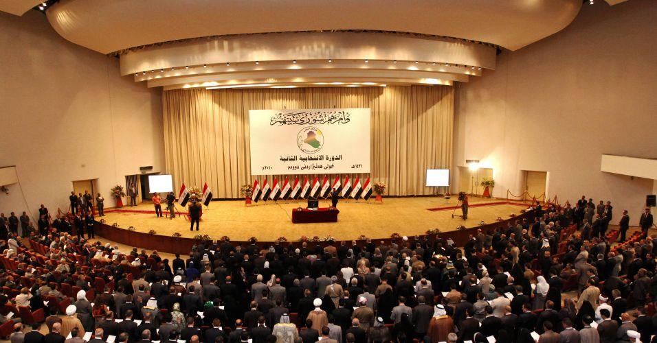 Reunião no Iraque