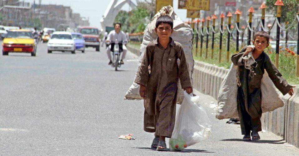 Crianças no Afeganistão