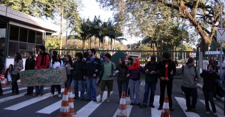 Protesto na USP
