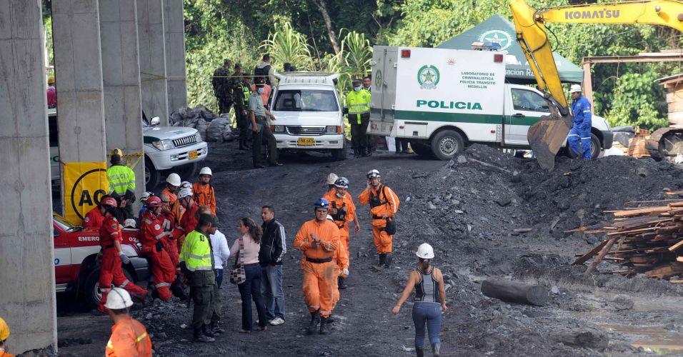 Explosão na Colômbia