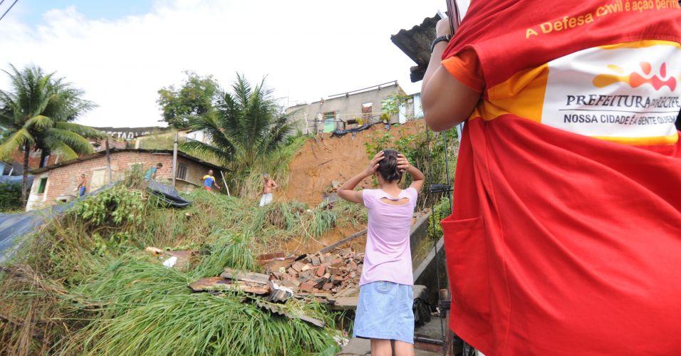 Deslizamento no Recife