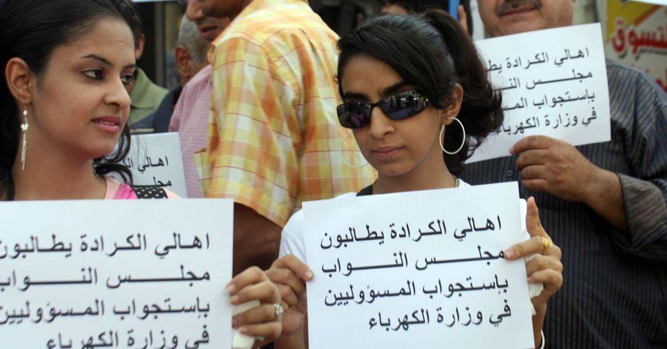 Protesto no Iraque