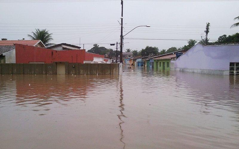Mau tempo em Alagoas