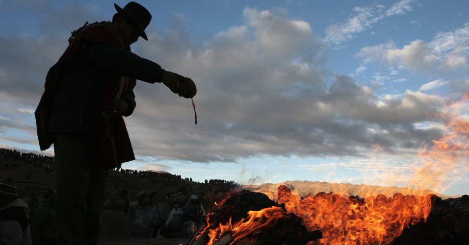 Solstice na Bolívia