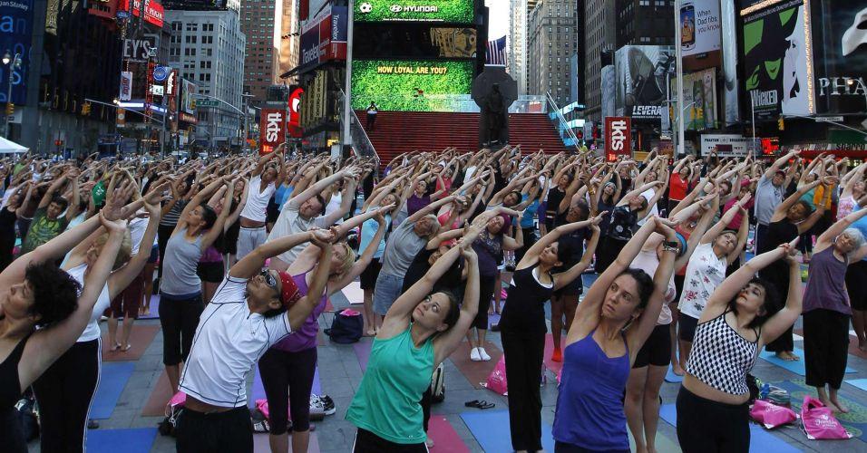 Yoga em Nova York