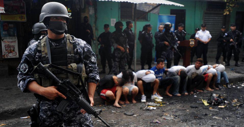 Prisões em El Salvador