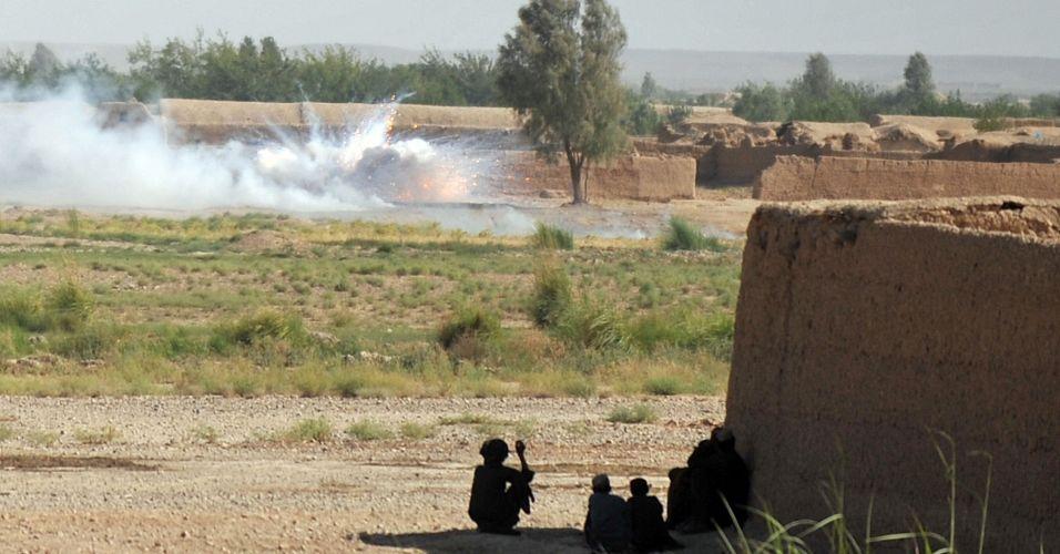 Bomba no Afeganistão