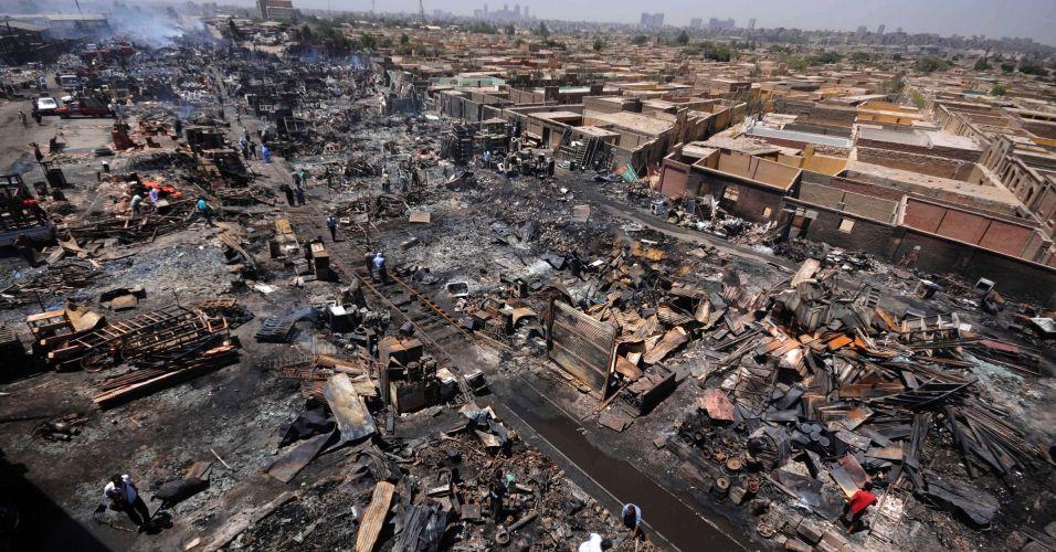 Acidente no Cairo