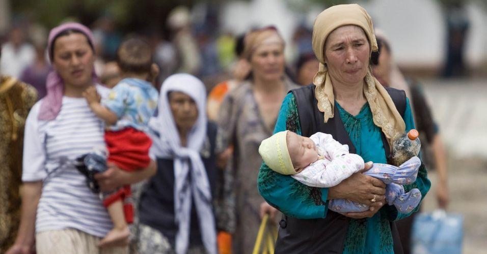 Refugiados no Quirguistão
