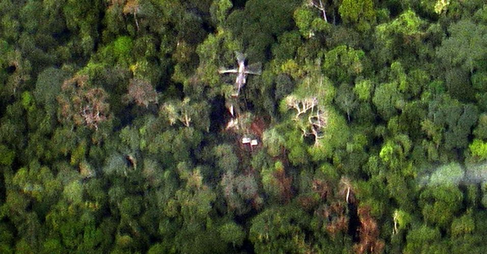 Avião no Congo